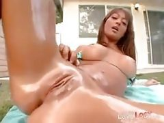 Michaela Mancini Oiled And Fucked