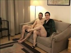Short-haired blonde german woman getting fucked