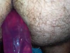 Dildo fuck and fart