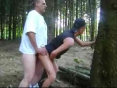 Amateur gay sex in the woods