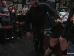 The business suit and the biker bar