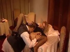 Mature Nympho Assfucked In Dining Room