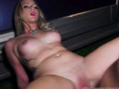 Tiny blonde Lilly Sapphire gets fucked