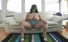 Humiliation and fuck for the horny fat girl