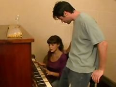 Argentinian Playing Piano For Cock