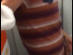 Wank and Cum in Toilets in airplane