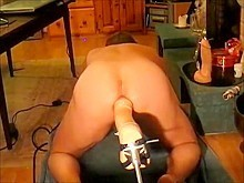 Drilled by Large Sex-Toy