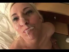Blonde MILF with black cock