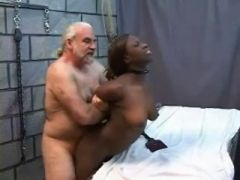 An old dude fucking