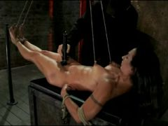 Incredible BDSM, Brunette porn video