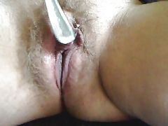 Playing with spoon