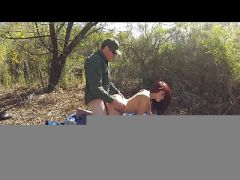 Please don\'t take me in officer! - Border Patrol Sex  HD