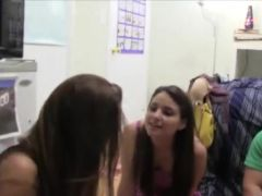elegant babes fucking in their college room