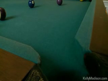 Busty Babes Fucked In The Billiard Room