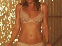 Jennifer Aniston in bra and panties