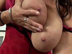 busty mature reny solo