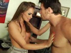 Tori Black fucked by a potential client