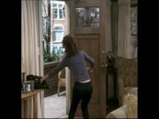 leah remini ass in jeans (slow-mo)