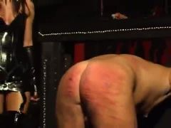 whipping and waxing in dungeon