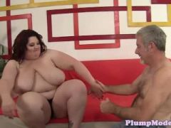 Busty bbw pounded in highheels