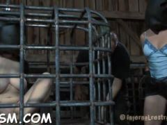 beauty receives hardcore clamping for her huge racks