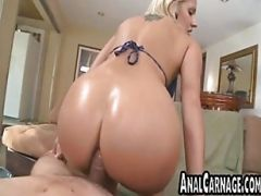 Blonde Babe Gets Her Tight Ass Fucked