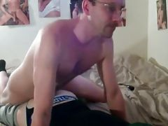 Cock in his Ass .....